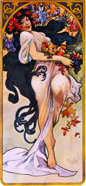 Autumn Equinox Mucha