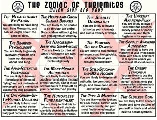 The Zodiac of Thelemites