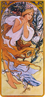 Mucha Winter Solstice